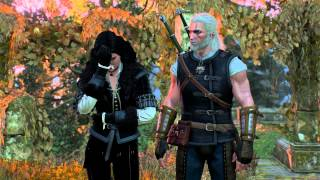 The Witcher 3: Wild Hunt - Yennefer Using Blood Magic