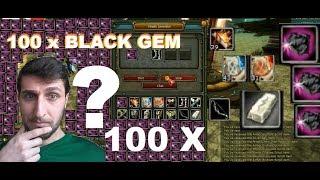 150 x Black Gem Kırdık ( 1,7 GB ) Knight Online Destan - Sesli Bilgiler TR