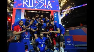 Vnl 2018 final volleyball best moments | France vs Russia |VNL 2018 gold medal Match