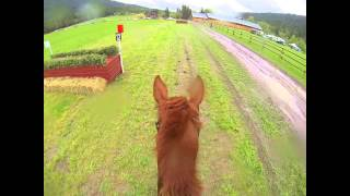Mustang Powder Horse Trials Prelim XC Helmet Cam Chase Creek