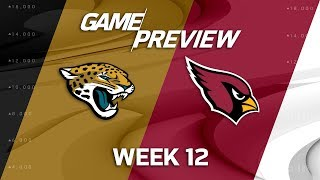 Jacksonville Jaguars vs. Arizona Cardinals | NFL Week 12 Game Preview | NFL Playbook