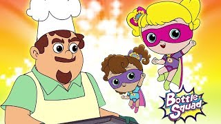 The Muffin Man | Bottle Squad Nursery Rhymes For Kids
