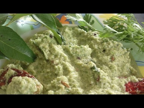 How to make Restaurant style South Indian Coconut Coriander Chutney