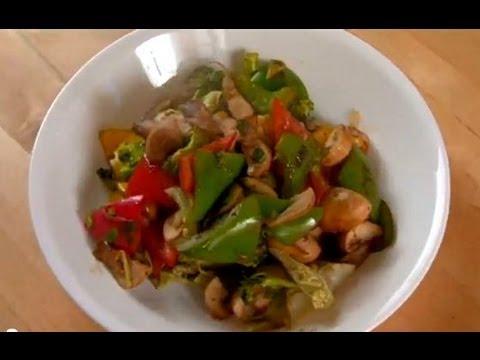 Chinese Stir Fried Vegetables