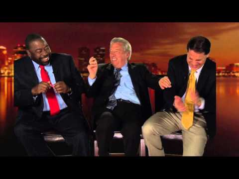 John C. Maxwell and Les Brown Video 1 of Behind the Stage The Good The Bad & the Ugly