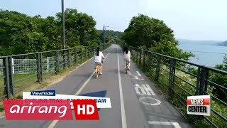 [Viewfinder] Cycling trail, Paldang dam