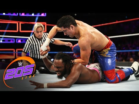 Rich Swann vs. TJP: WWE 205 Live, July 4, 2017