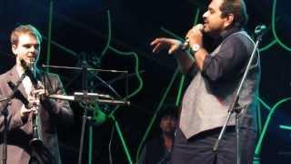 Des - Shankar Mahadevan, Shankar Tucker, and Giuliano Modarelli at Storm Festival