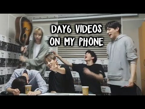Apparently I have 500 Day6 videos on my phone so here are some of them Phone Vids 3