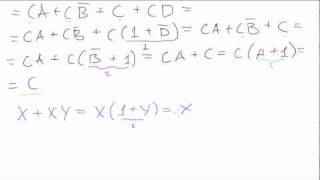 Boolean algebra #3: Basic problems (continued)