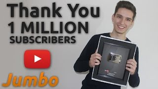 THANK YOU FOR 1 MILLION SUBSCRIBERS ! ( Face Reveal )