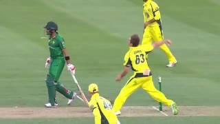 Sharjeel Khan 74 Runs Off 47 Balls vs Australia |4th ODI 2017