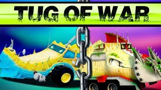 Ness Seal vs Yippii | Tug Of War | Truck Cartoons For Toddlers  | Kids  Cartoon Show by Kids Channel