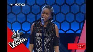 Noeline ' Halo ' de Beyoncé Audition à l'aveugle The Voice Afrique francophone 2017