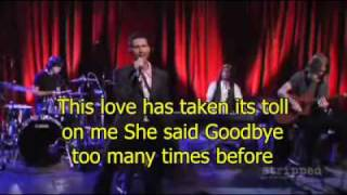 Maroon 5  This Love  Lyrics