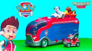 PAW PATROL Nickelodeon Mission Cruiser With Marshall New Toys Video