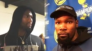 Kevin Durant Runs from Fighting DeMarcus Cousins After Getting Confronted (Parody)