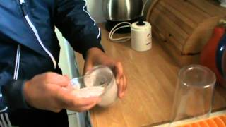 How to make icing sugar out of granulated sugar.