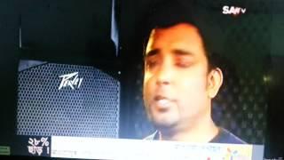 RaNa's show Inside Tune on SA TV