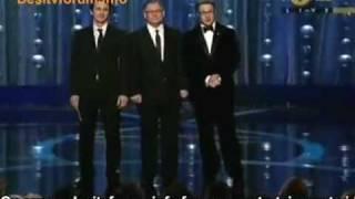 Oscars 2009: James Franco and Seth Rogen  /