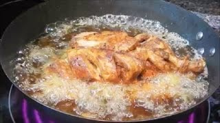 Lahori Chargha/ Steamed Fried Chicken/لاهوری چرغہ