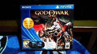 Nuevo PS Vita Slim | + God of War Collection | Unboxing En Español