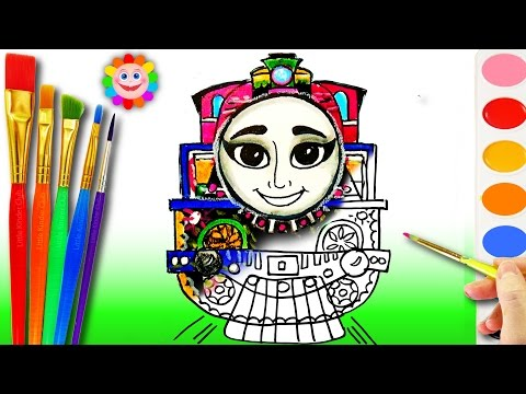 Xxx Mp4 Learning Coloring Ashima Coloring Page With Thomas And Friends How To Draw For Kids 3gp Sex