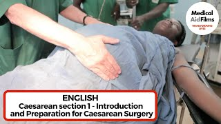 Caesarean section 1 – Introduction and preparation for surgery