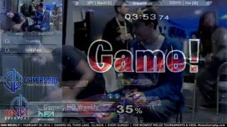GHQ Weekly [2/28/16] - TEMPO | Axe (Peach, ICs)  vs. SPY | MacD (Pikachu, Falco, ICs) - Grand Finals