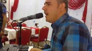 الفنان احمد كولجان مطعم الفردوس في غازي عنتاب 14.06.2015 Ahmet GÜLCAN