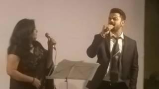 Virat Kohli'  Singing  Jo Wada Kiya Wo Nibhana Padega     Kohli love   