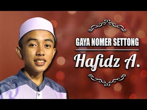 """ New "" Mun Gaya Nomer Settong Voc. Hafidz   Syubbanul Muslimin   Lirik"