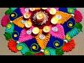 Beautiful & innovative rangoli for welcome 2019 decor