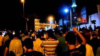 شبكة شام - مظاهرات حمص 13-8 حي الانشاءات شارع الملعب