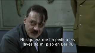 Hitler se entera de que Pepe se pira a Alemania