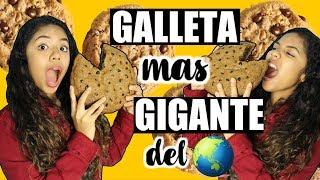 GALLETA DE CHOCOCHIPS GIGANTE!! TUTORIAL |Johanna De La Cruz