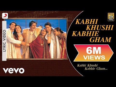Xxx Mp4 Kabhi Khushi Kabhie Gham Lyric Title Track Shah Rukh Khan Lata Mangeshkar 3gp Sex