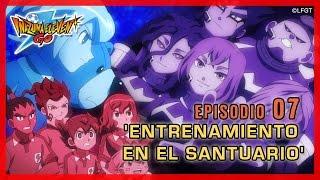 Inazuma Eleven Go Chrono Stones Episodio 07 español – «¡Entrenamiento en el Santuario!»