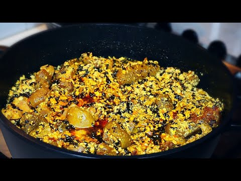 How to make Nigerian Egusi soup Party Style Egusi Soup from start to finish.