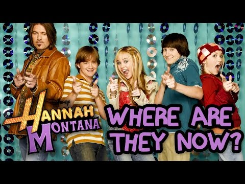 Hannah Montana Cast Where Are They Now
