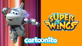 Super Wings | Volcano-Powered Giant Robot | Cartoonito UK