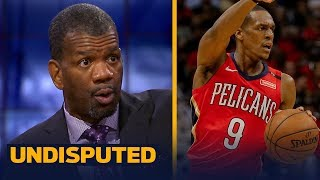 Rob Parker wonders how PG Rajon Rondo would react if Lonzo Ball starts over him | NBA | UNDISPUTED