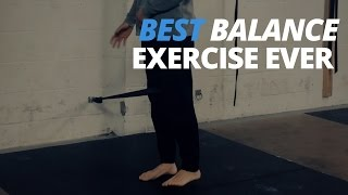 Best Balance Exercise Ever - Midline Muscle Activation Drill