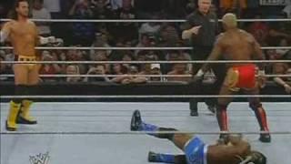 CM Punk vs Burke vs Benjamin