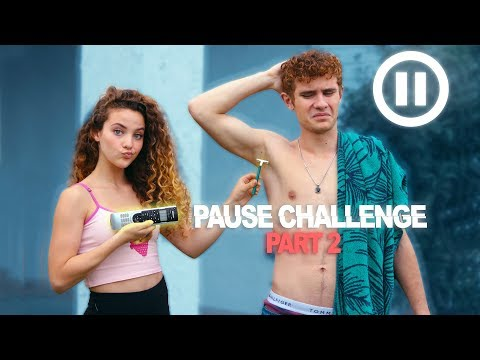 Xxx Mp4 PAUSE CHALLENGE Sister VS Brother PART 2 3gp Sex