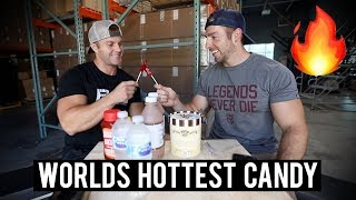 WORLD'S HOTTEST CANDY CHALLENGE | Brother Vs. Brother