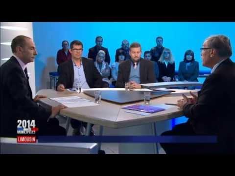 Municipales à Guéret : débat Vergnier-Thomas-Maume d'entre-deux-tours