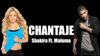 Shakira  ft.  Maluma  - Chantaje - 2016 (AUDIO HQ)