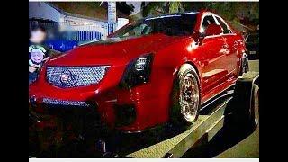 Dodge Hellcat Vs Cadillac Cts-V $1,300 Street Race