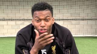 Liverpool striker Daniel Sturridge v kids from the Bronx